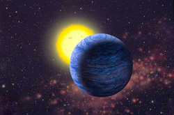 Planet around star 195019