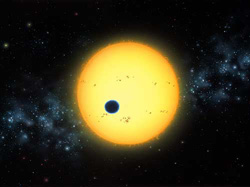 Planet around star HD209458