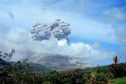 Soufriere Hill exploding -part II